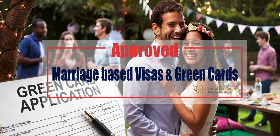 approved marriage green card and visa petitions  cipolla