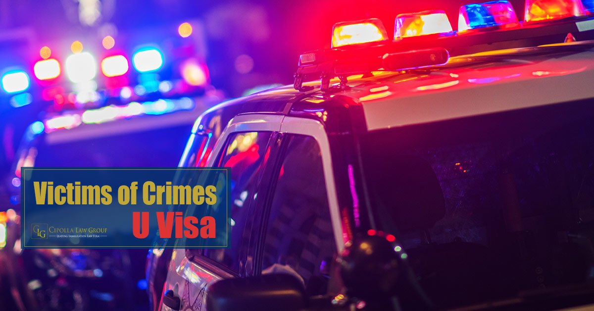 U Visa Victims of Crimes