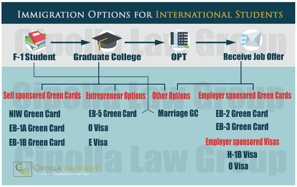 F-1 Immigration Options