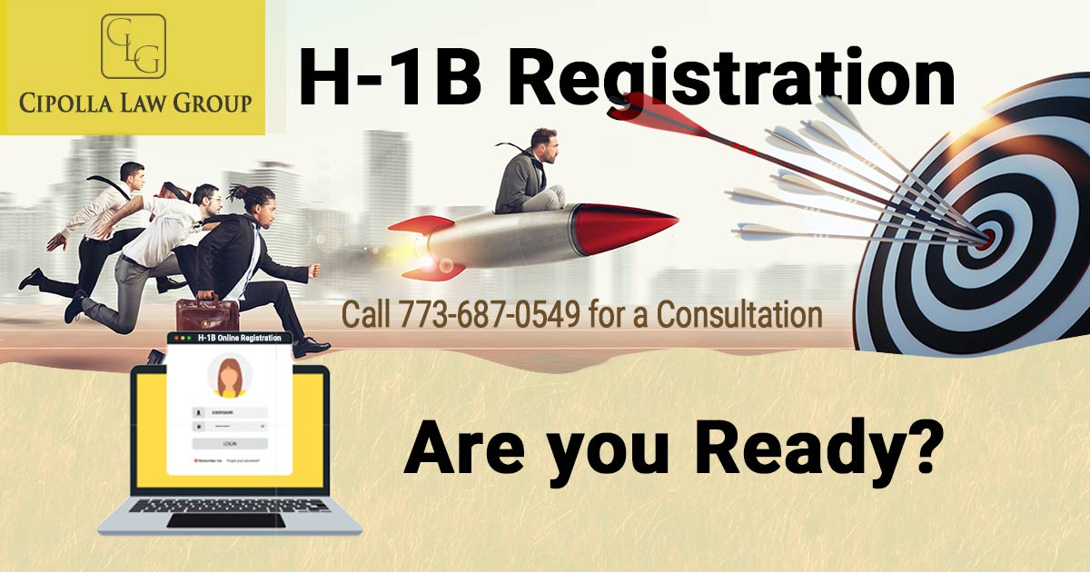 H-1B registration Immigration Attorney Chicago