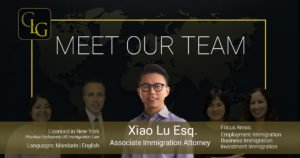 Xiao Lu Immigration Lawyer in Chicago Cipolla Law Group