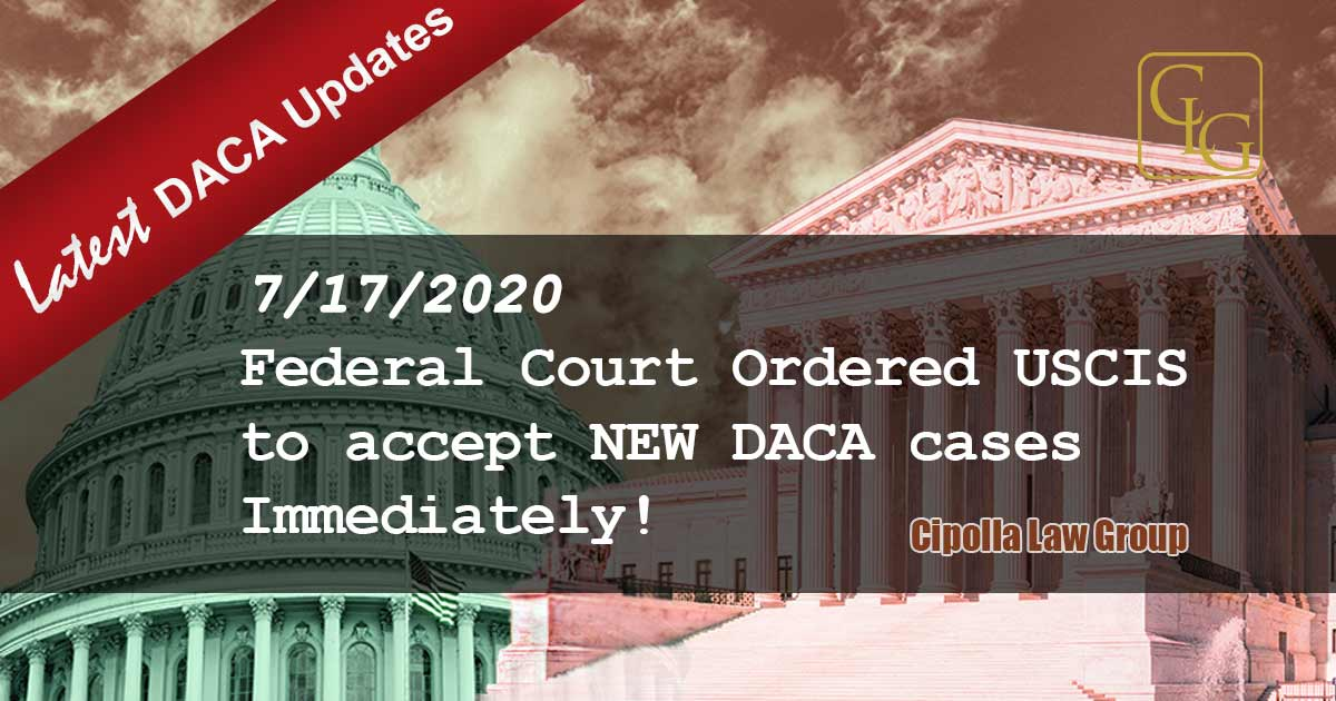 DACA Chicago Immigration attorneys USCIS must accept DACA cases