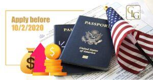 USCIS filing fees increase 2020