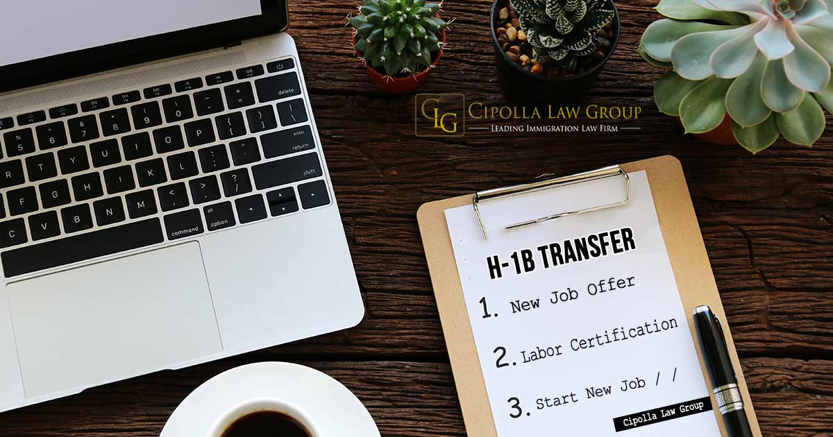 H1b change of employer immigration lawyer in Chicago